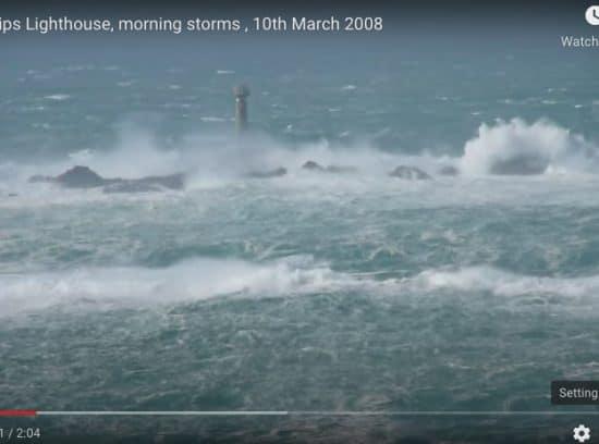 Longships Lighthouse Warning ships off Lands End Visit Cornwall TV