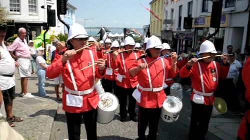 falmouth marine band penzance ma