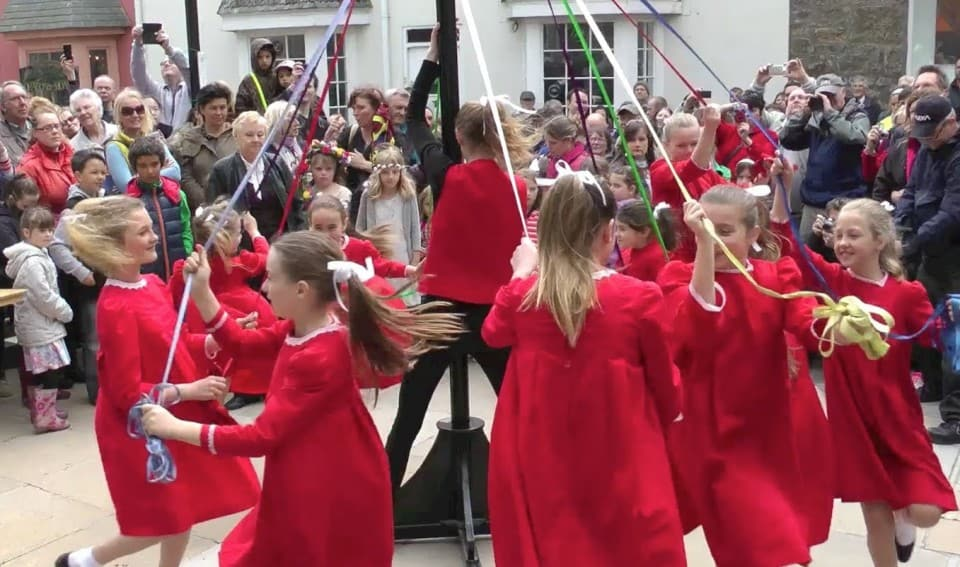 st ives may day celebrations