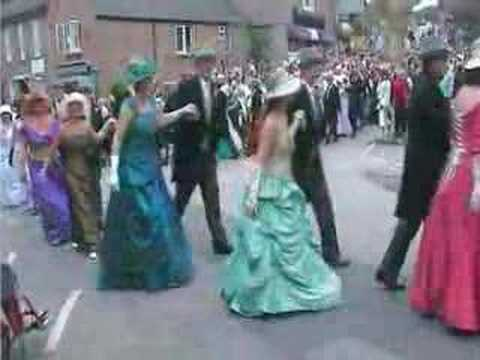 video of the helston flora day d
