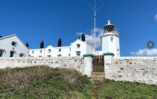 The lighthouses of Cornwall